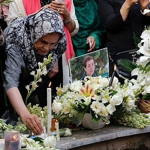 مراسم یادبود مریم میرزاخانی در خانه ریاضیات تهران