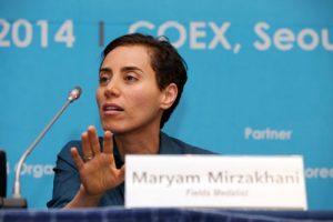 مریم میرزاخانی ریاضیدان ایرانی