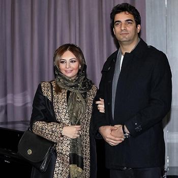 منوجهر هادی و همسرش یکتا ناصر