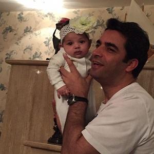 منوچهر هادی و دخترش سوفیا