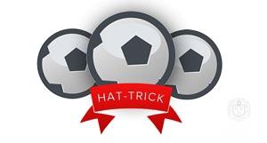 هتریک در فوتبال چیست؟ + هتریک چیست؟