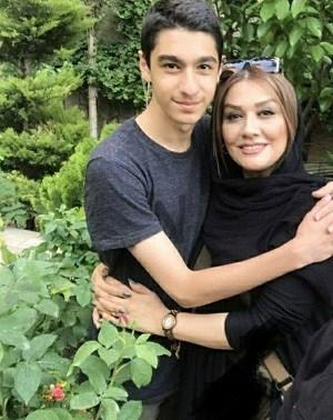 عکس همسر امیرحسین مدرس و پسرش ایلیا