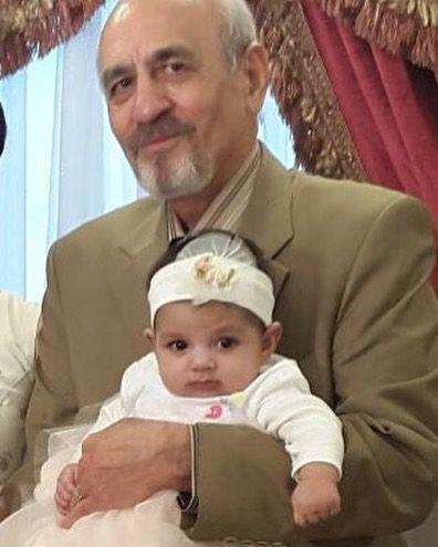 پدر یکتا ناصر و دخترش سوفیا