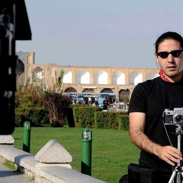 پشت صحنه فیلم سینمایی قبیله به کارگردانی غلامرضا آزادی - مدیر فیلمبرداری پیام آزادی