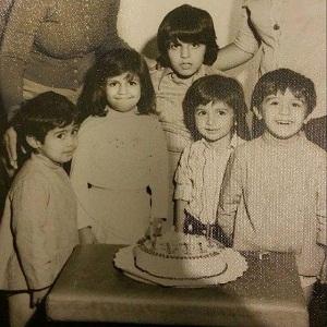 دکتر علیرضا یارقلی در کودکی