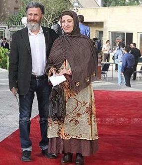 عکس بهرام عظیمی و همسرش