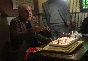جشن تولد جواد علیزاده