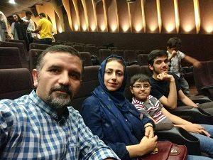 جمال رحمتی و همسرش شیرین