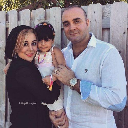 بیوگرافی سینا سرلک و همسرش + عکس دخترش ساغر