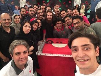 عکس دانیال غفارزاده در جشن خندوانه