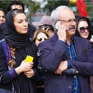 عکس رضا نیکخواه و دخترش