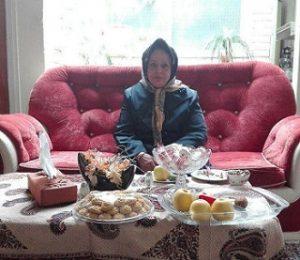 عکس مادر امین اصلانی