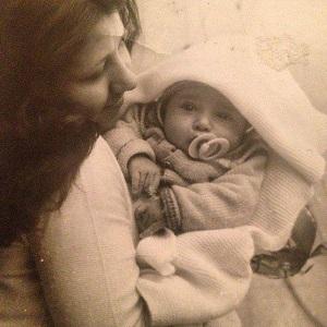 عکس مازیار میری در کودکی
