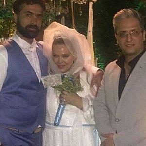 عکس مراسم عروسی بهاره رهنما و همسر دومش