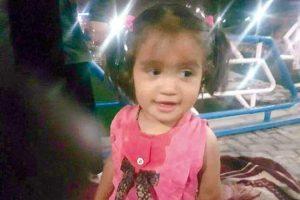 عکس ملیکا کودک گم شده مشهدی