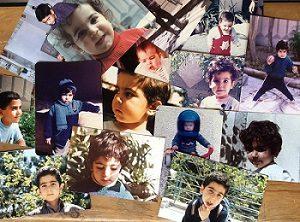 عکس های کودکی امید نعمتی