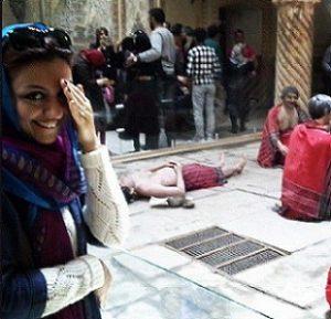 عکس همسر بهزاد قدیانلو (کیمیا عطار)