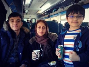 عکس همسر و فرزندان جمال رحمتی