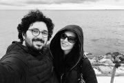 هومن بهمنش و همسرش + عکس