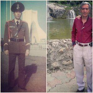 عکس پدر امین اصلانی