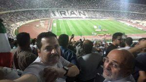 محمد معتضدی در ورزشگاه آزادی