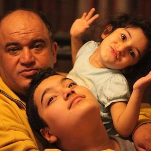 نادر سلیمانی و فرزندانش