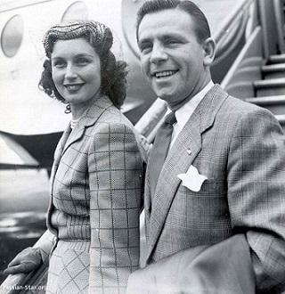 نورمن ویزدم و همسرش