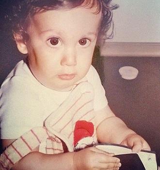 عکس کودکی نیما شعبان نژاد