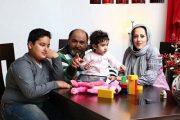 نادر سلیمانی و همسرش پری صمدی