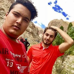 هومان سلیمانی و دوستش