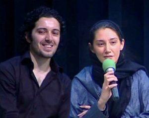 هومن بهمنش و هدیه تهرانی