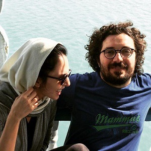 هومن بهمنش و همسرش