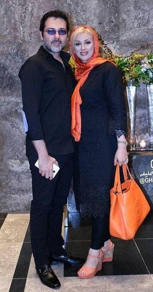 کورش تهامی و همسر دومش پونه یزدانی