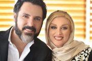 شبنم طلوعی و همسرش غلامرضا دهقان کمارجی
