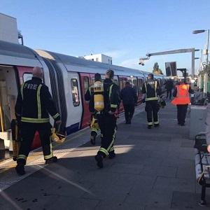 انفجار در مترو لندن (حادثه تروریستی در مترو غرب لندن)
