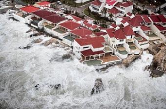 تصاویر طوفان ایرما