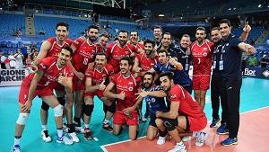 جدول بازیهای ایران در مسابقات والیبال لیگ ملت های والیبال + نتایج