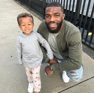 جردن باروز و فرزندش