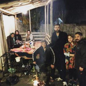 عکس سامان فائزی و خانواده اش