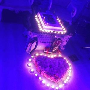 سورپرایز همسر میلاد عبادی پور برای تولدش
