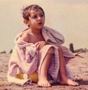 عکس آرمان صورتگر در کودکی