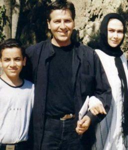 عکس آنا نعمتی و همسر سابقش و پوریا پورعرب