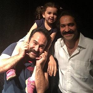 عکس افشین هاشمی و برادرش امیر