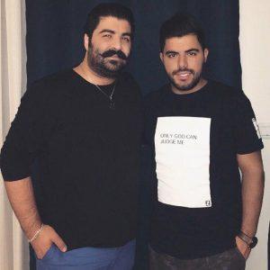 عکس بهنام بانی و حامد برادران