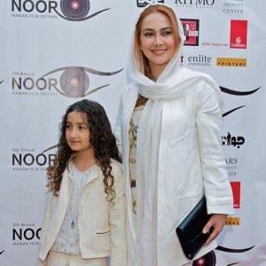 عکس خواهر کوچک پوریا (رائیکا پورعرب و مادرش آنا نعمتی)