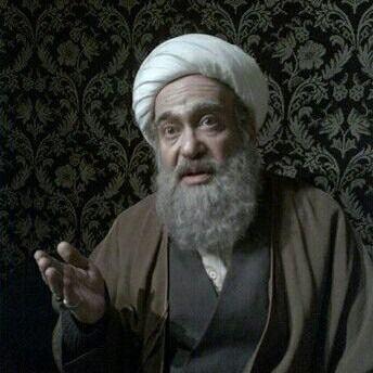 عکس داریوش کاردان در نقش میرزای قمی(تبریز در مه)