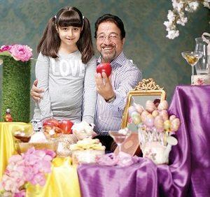 عکس دختر علیرضا خمسه