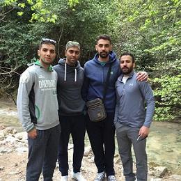 عکس سامان فائزی و دوستانش