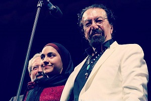 عکس ناصر چشم آذر و دخترش رعنا