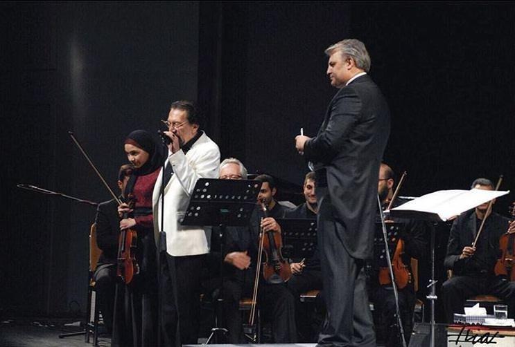 عکس های ناصر چشم آذر و دخترش رعنا چشم آذر